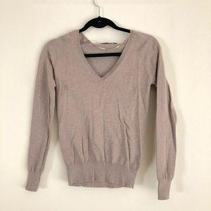 Zara Tan Long Sleeve Sweater